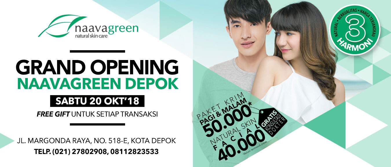 Grand Opening Naavagreen Depok