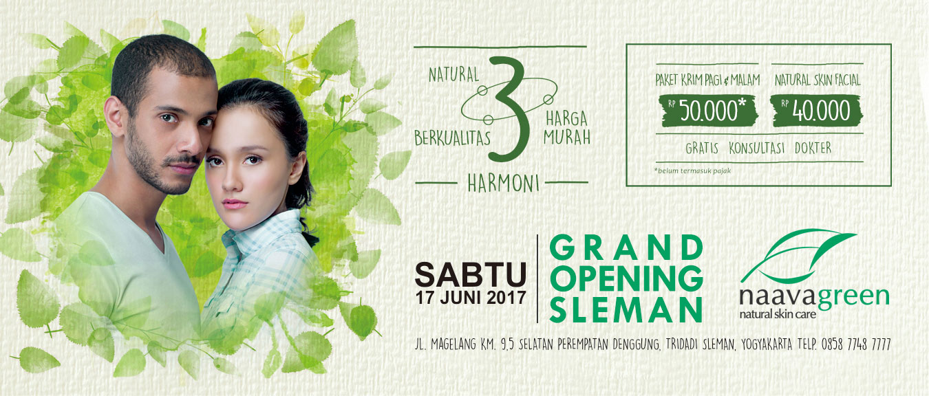 Grand Opening Naavagreen Sleman