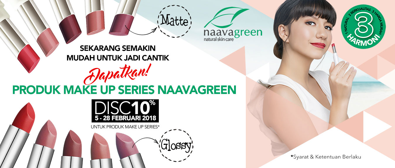 Promo Make Up Series Naavagreen