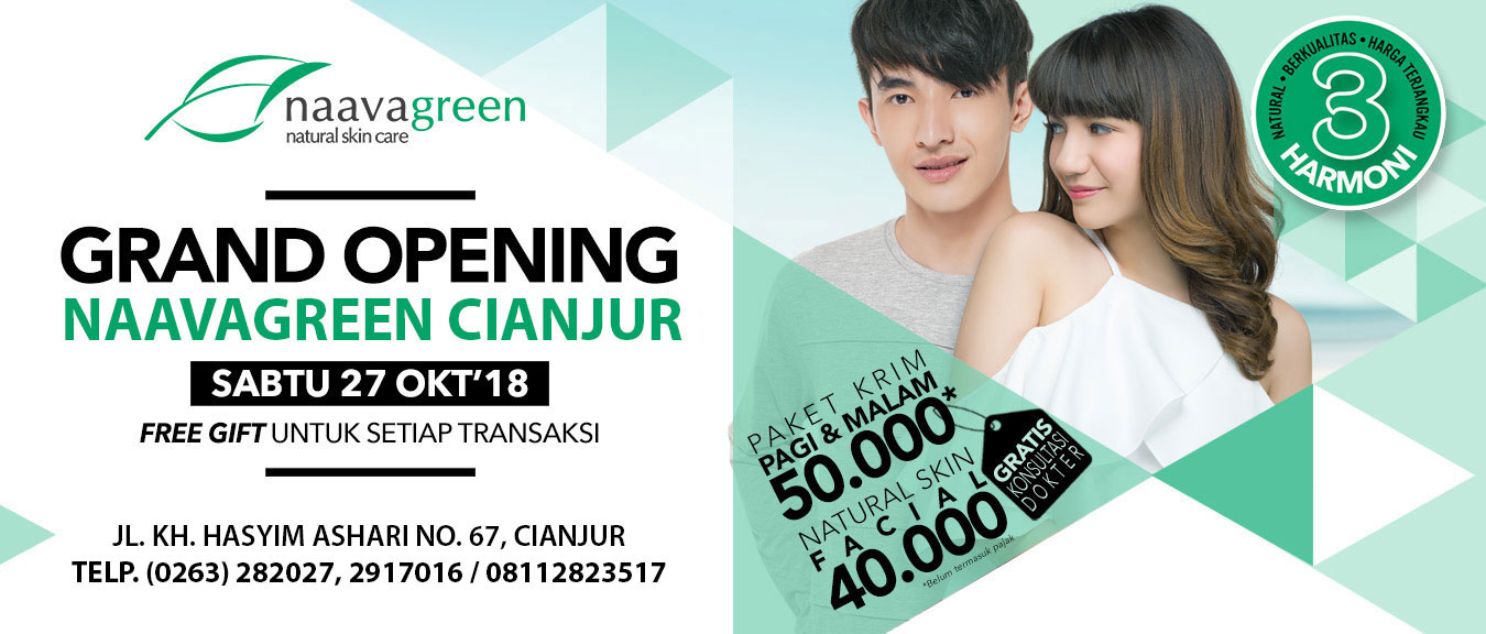 Grand Opening Naavagreen Cianjur