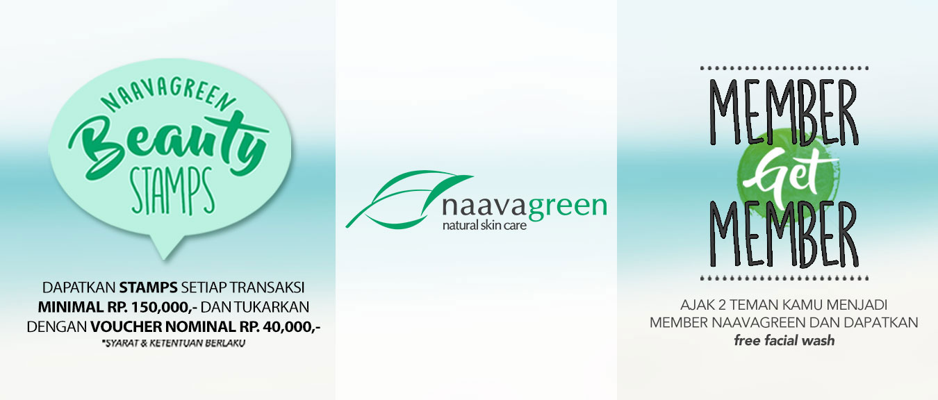 Naavagreen Beauty Stamps and Member Get Member Promo