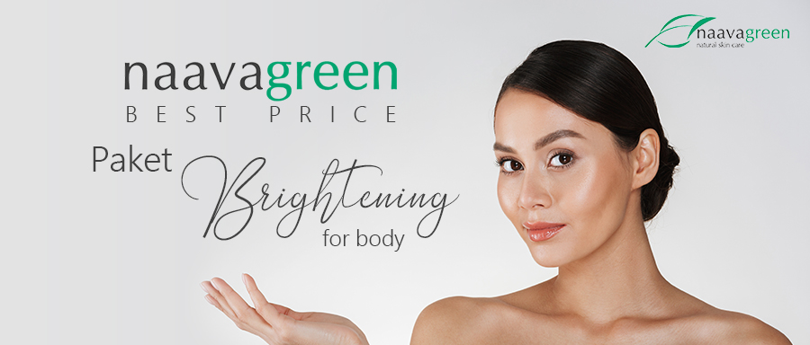 NAAVAGREEN BEST PRICE PAKET BRIGHTENING FOR BODY