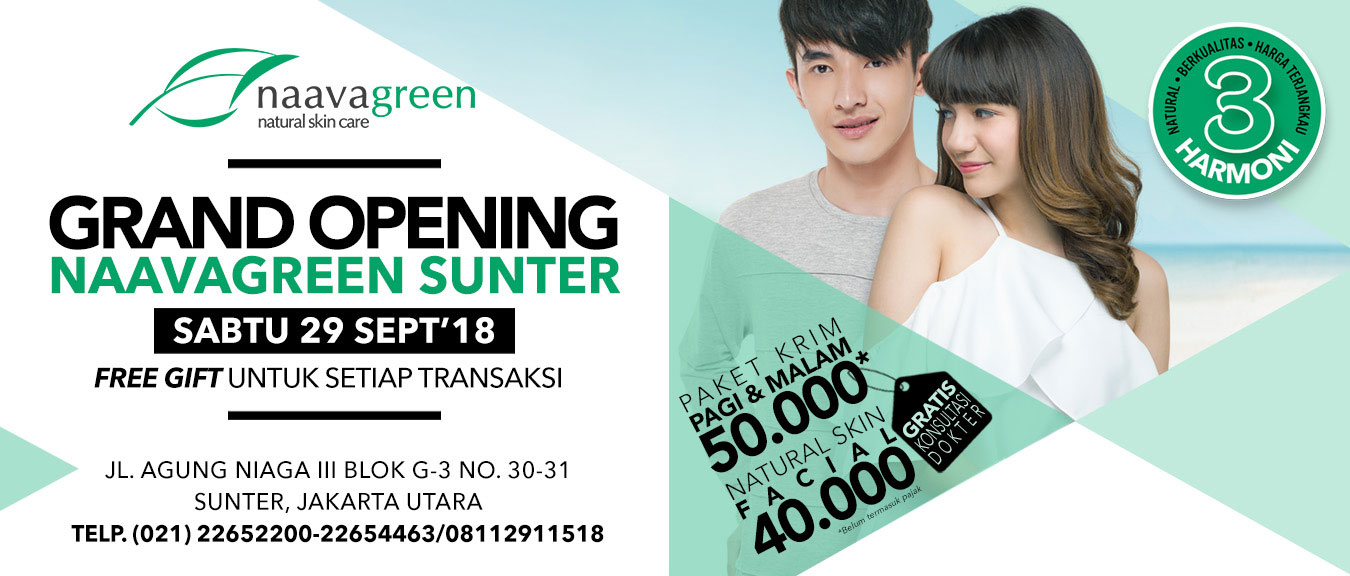 Grand Opening Naavagreen Sunter