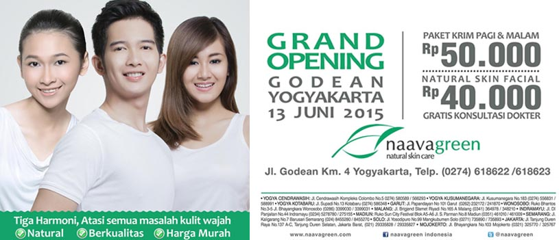 Grand Opening Naavagreen Godean