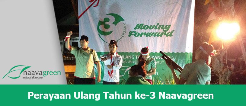 Moving Forward, Perayaan Ulang Tahun Ke 3 Naavagreen