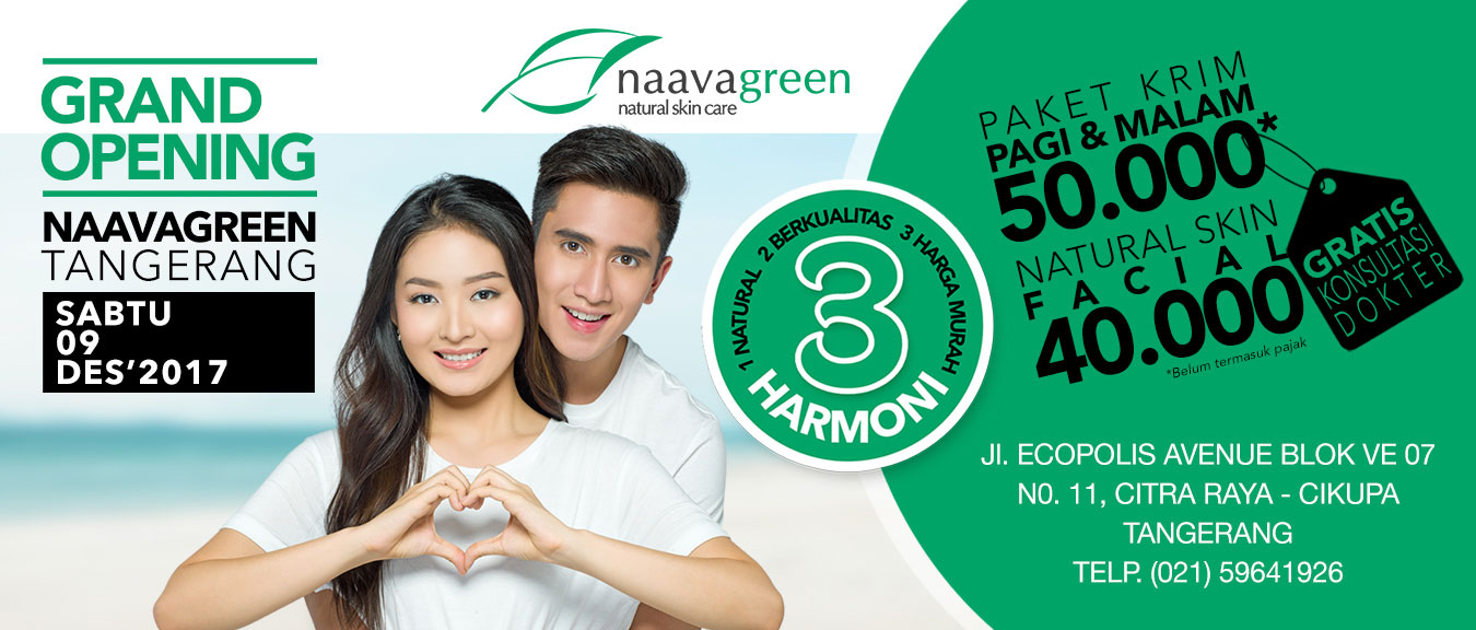 Grand Opening Naavagreen Tangerang