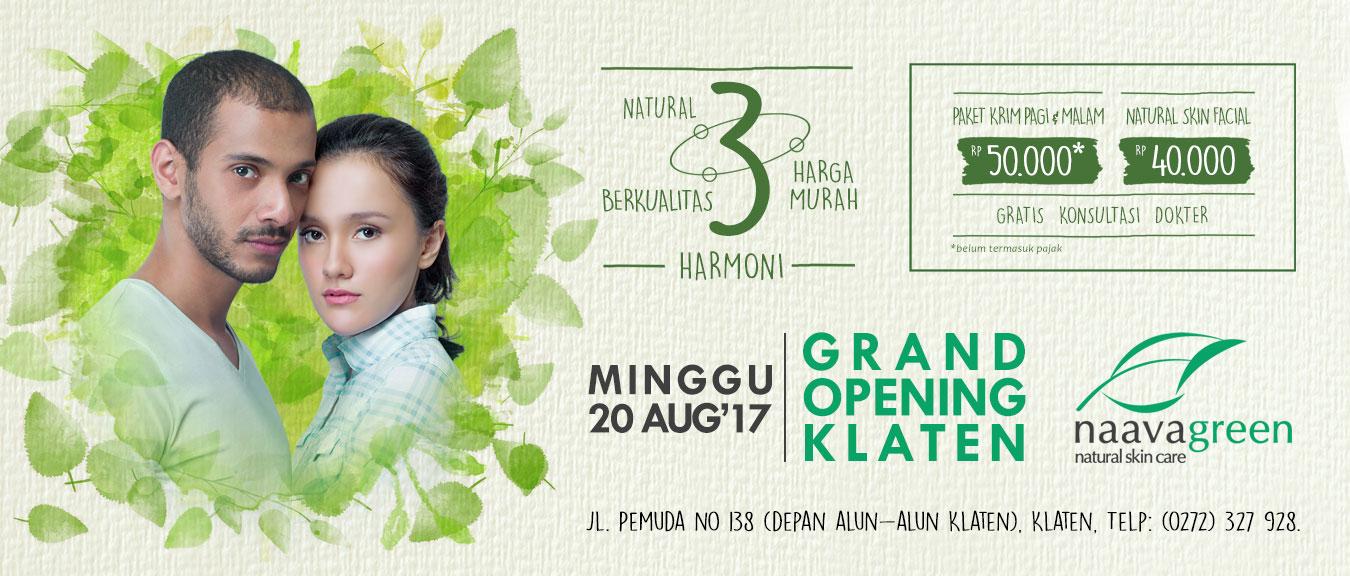 Grand Opening Naavagreen Klaten