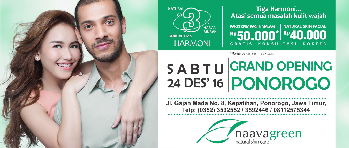 Grand Opening Naavagreen Ponorogo