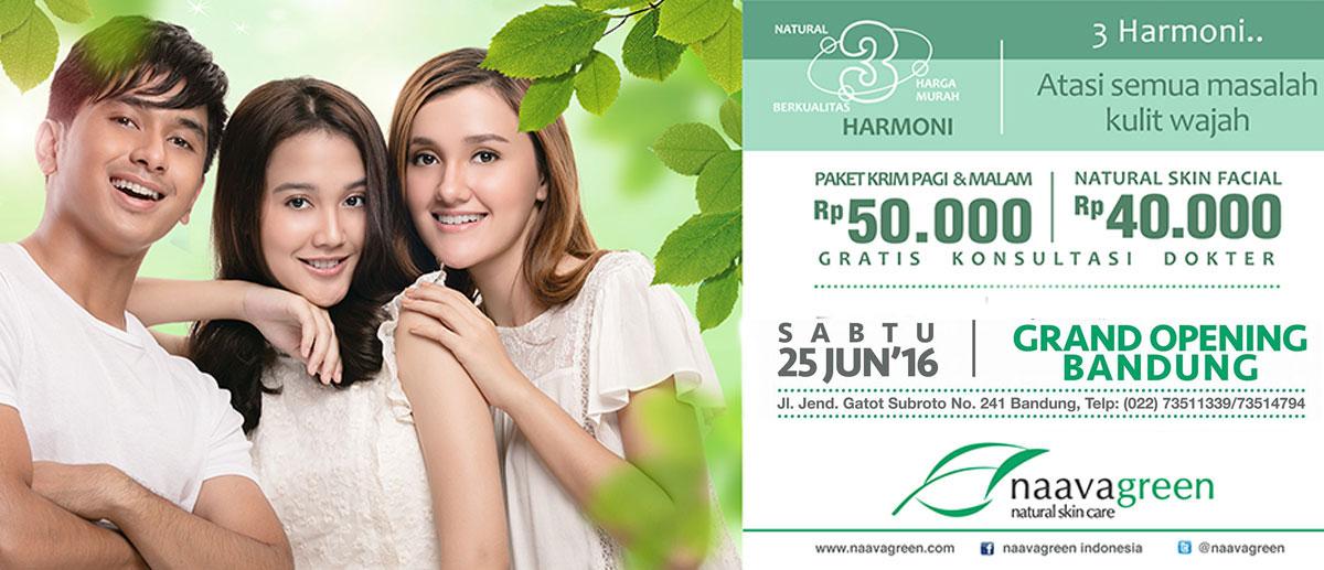 Grand Opening Naavagreen Bandung