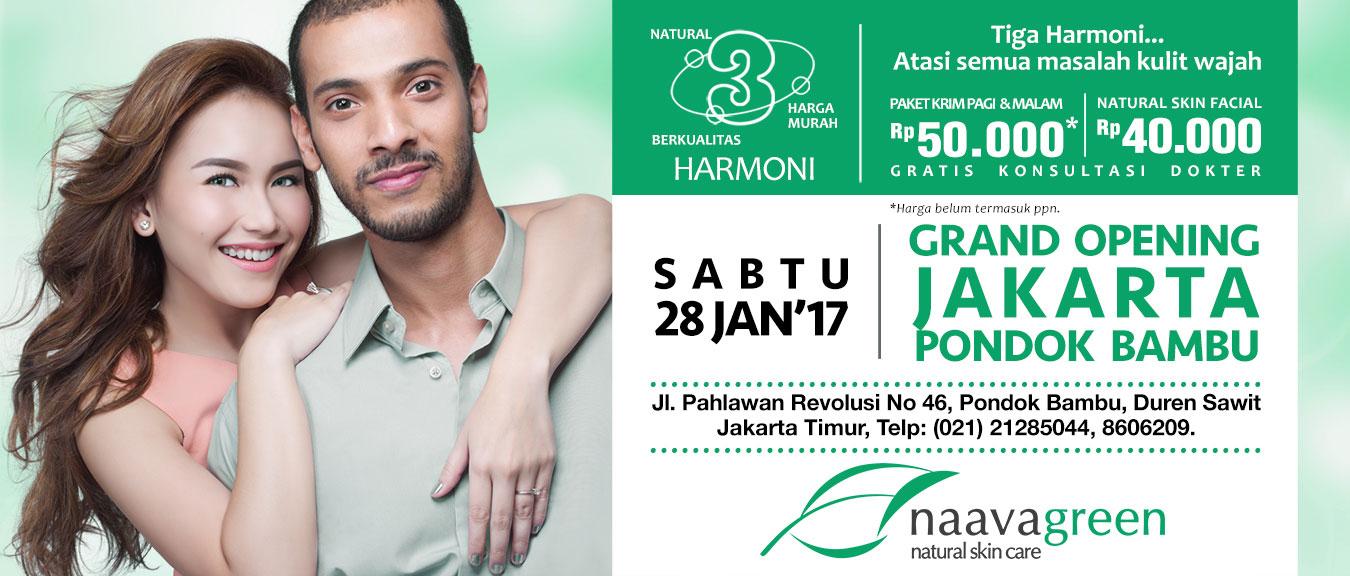 Grand Opening Naavagreen Jakarta Pondok Bambu