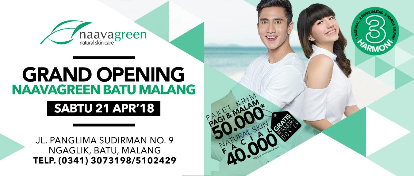 Grand Opening Naavagreen Batu Malang