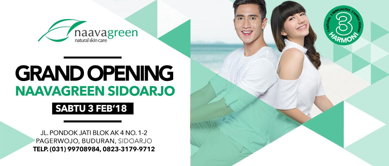 Grand Opening Naavagreen Sidoarjo