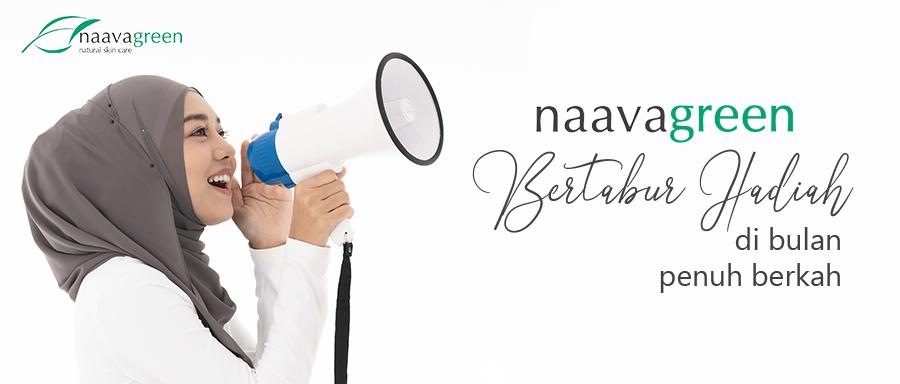 NAAVAGREEN BERTABUR HADIAH DI BULAN PENUH BERKAH