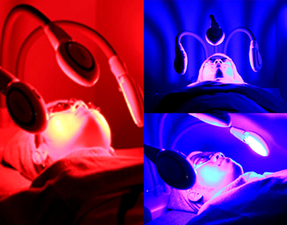 Red & Blue Bio Light Therapy